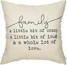 Fjfz Family a Little Bit of Crazy a Little Bit of Loud and a Whole lot of Love Rustic..