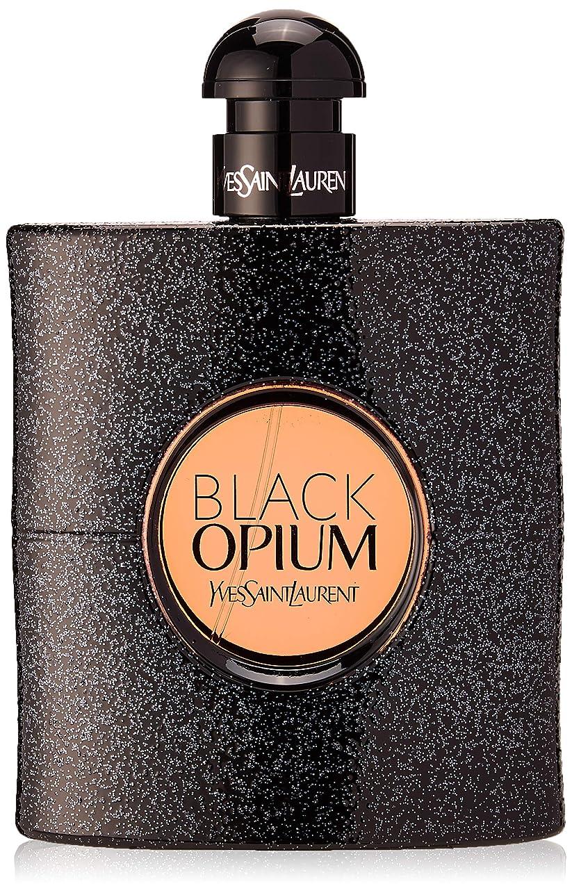 赤外線反動前部イヴサンローラン Black Opium Eau De Parfum Spray 90ml [海外直送品]
