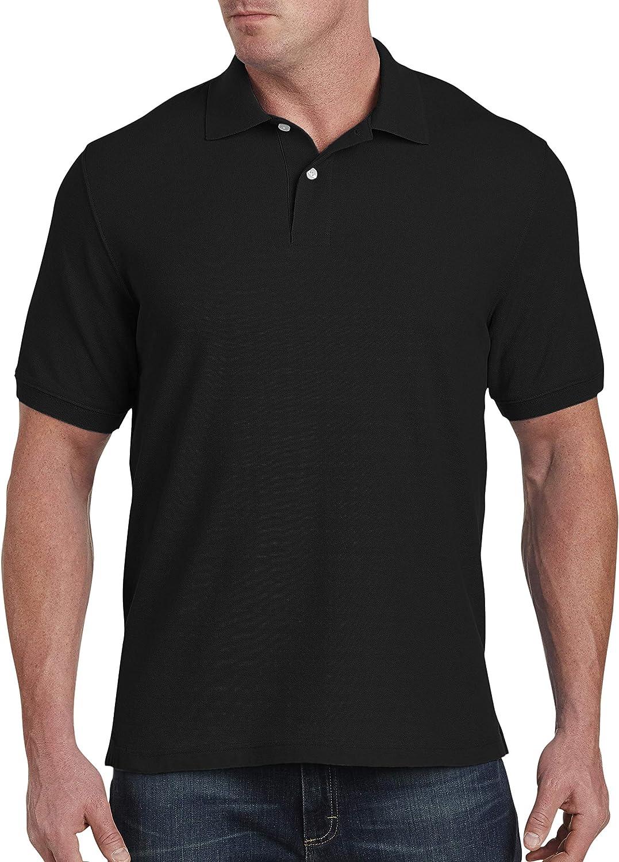 Harbor Bay by DXL Big and Tall Piqu233; Polo Shirt