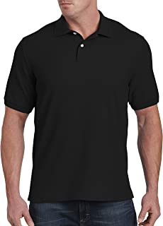 Harbor Bay by DXL Big and Tall Pique Polo Shirt