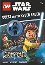 Lego® Star Wars: Quest for the Kyber Saber (Activity Book with Minifigure)