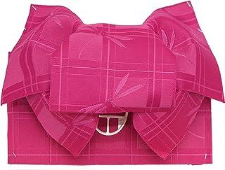 浴衣 帯 子供 作り帯 浴衣帯 女の子 たれ付き リボン結びの帯 選べる色柄 GYOd