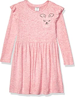 Amazon Brand - Spotted Zebra Girls Cozy Knit Dress