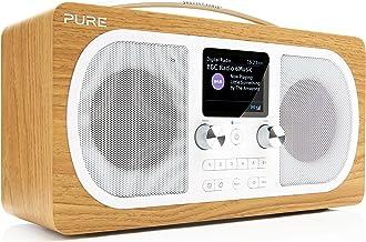 Pure Evoke H6 Portable Stereo FM/DAB+/DAB Digital Radio - DAB Radio with Bluetooth Music Streaming, Dual Alarms and Full C...