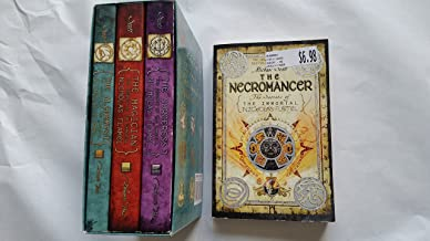 The Secrets of the Immortal Nicholas Flamel Set By Michael Scott. 1-4 (Alchemyst, Magician, Sorceress, Necromancer)