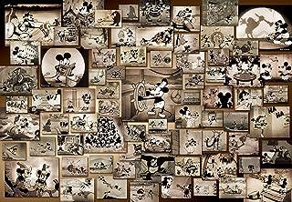 1000ピース ジグソーパズル ディズニー ミッキーマウス モノクロ映画コレクション(51x73.5cm)