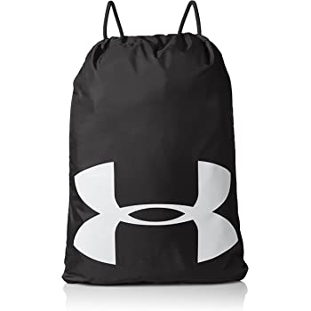 Under Armour Ozsee Elevated Sackpack Black Medium Heather One Size Under Armour Bags 1300217