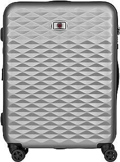 Wenger 604341 Lumen Hardside Upright Luggage, Silver, 64 Centimeters