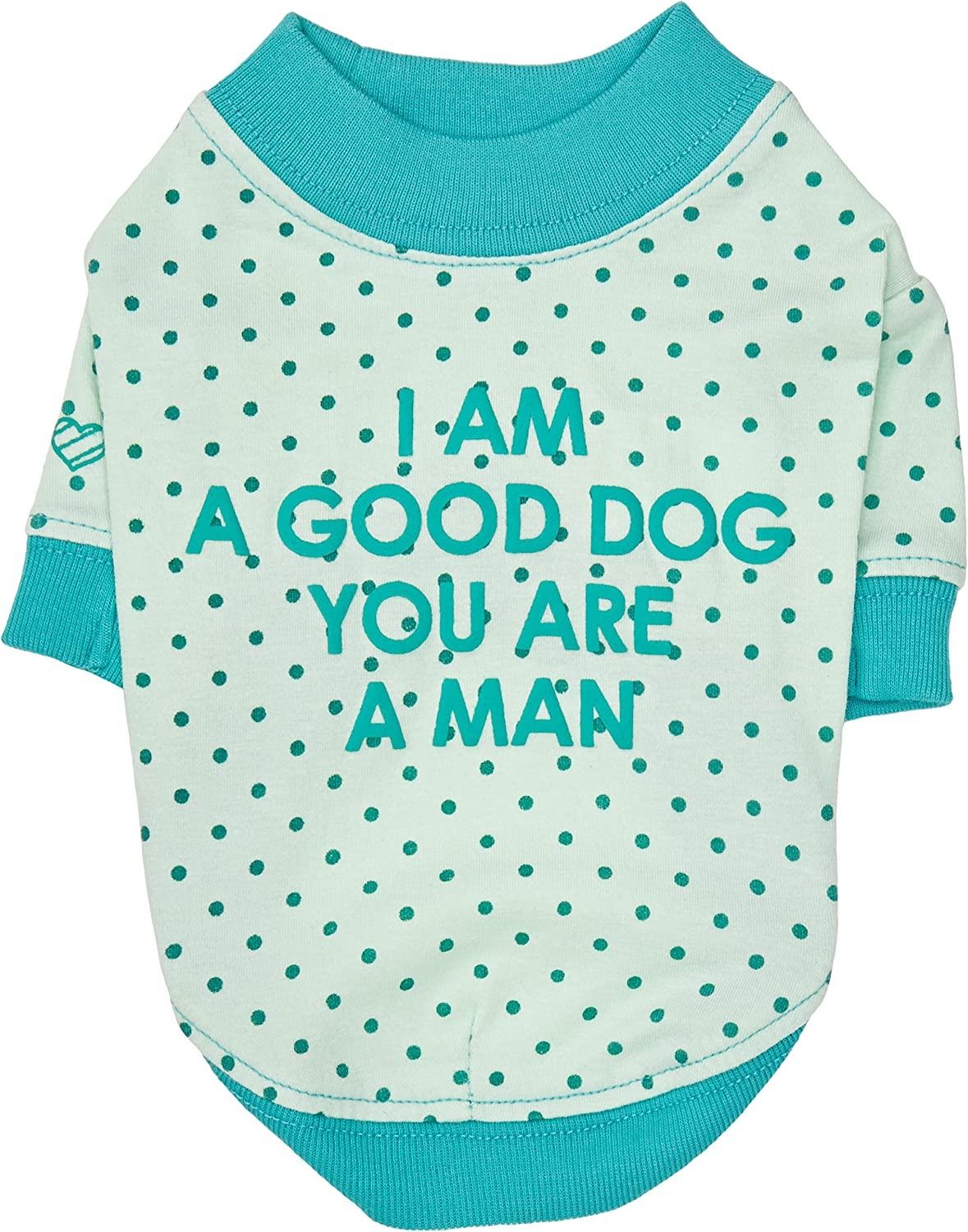 Puppia You and I Apparel, Small, bluee