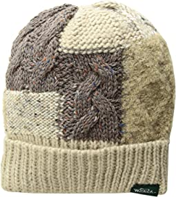 Knit Patch Cuff Cap