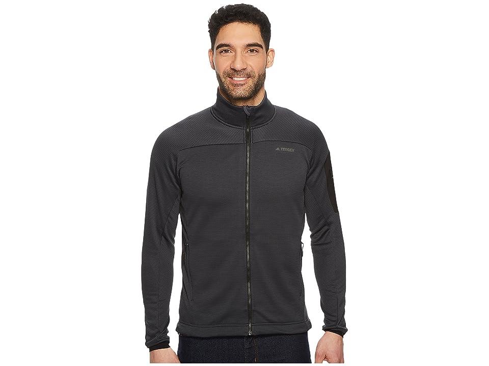 adidas Outdoor Terrex Stockhorn Fleece Jacket (Carbon) Men