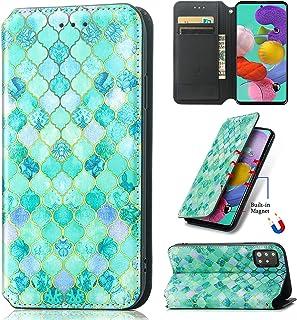 SHHIIA Plånboksfodral för VIVO V9/Y85/Y89, premium plånboksfodral i PU-läder [ädelmönster] flip folio [Kickstand funktion]...