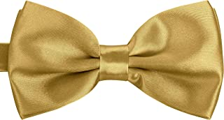 BomGuard Men's Bow Tie in 40 Colours for Weddings, Party or Elegant Occasions Set of 3 Bows