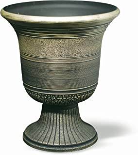 silver urn planter
