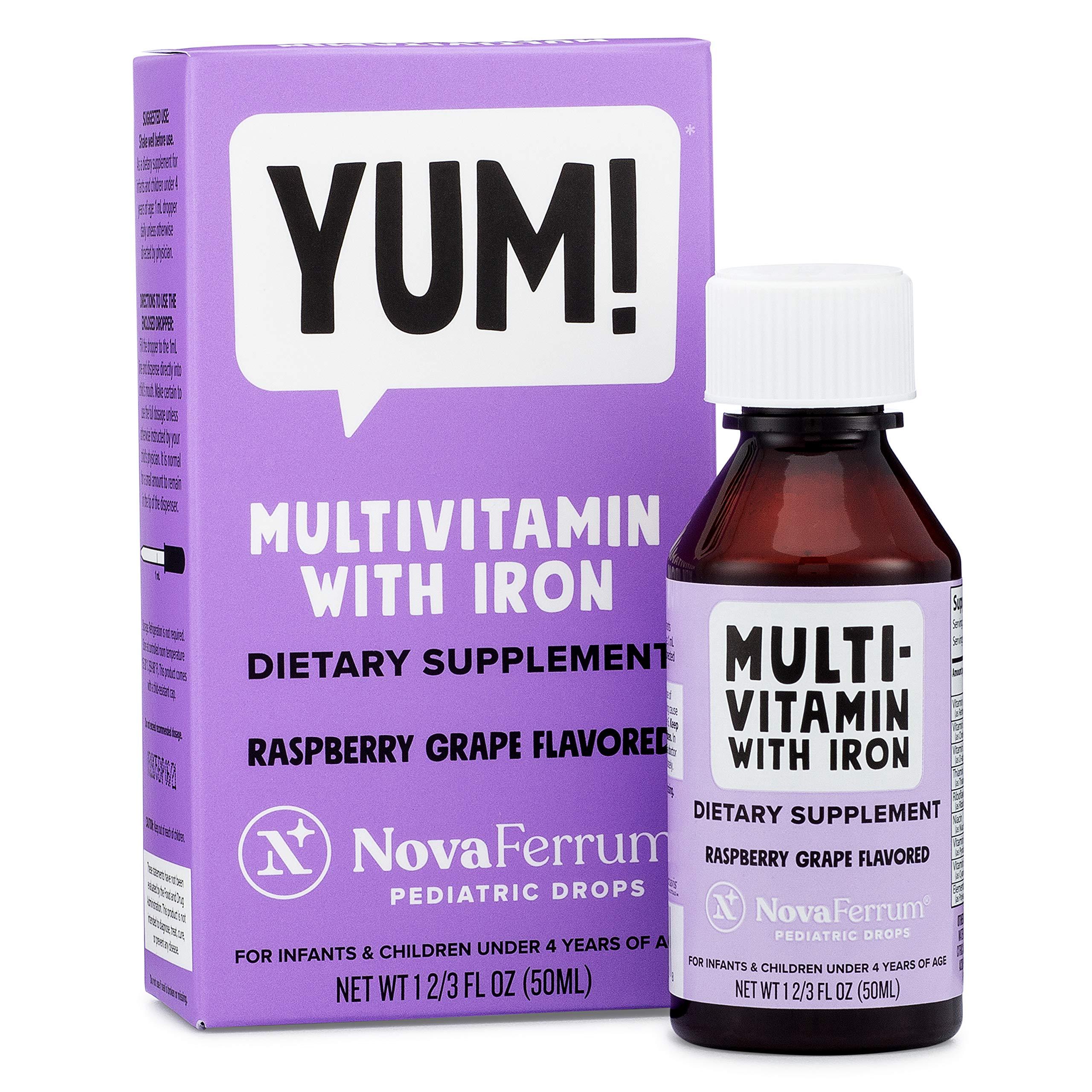 NovaFerrum Multivitamin Supplement Infants Toddlers
