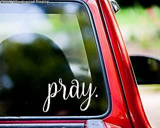Minglewood Trading pray. Vinyl Decal Sticker 5
