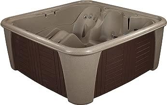Essential Hot Tubs 24 Jets Rainier Hot Tub, Cobblestone/Espresso