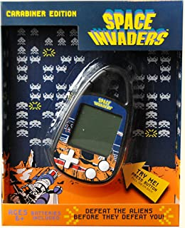 Basic Fun Space Invaders Electronic Carabiner