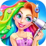 Long Hair Princess Candy Salon