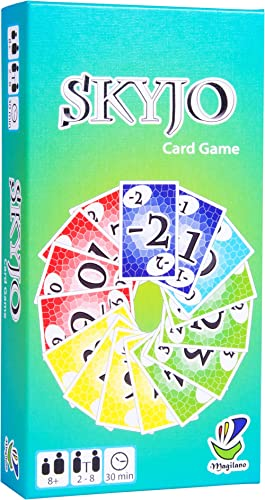 SKYJO by Magilano - The entertaining card game for kids and adults. The ideal game for fun, entertaining and exciting...