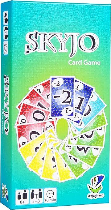 -SKYJO, door Magilano - Het vermakelijke kaartspel voor kinderen en volwassenen-aanbieding