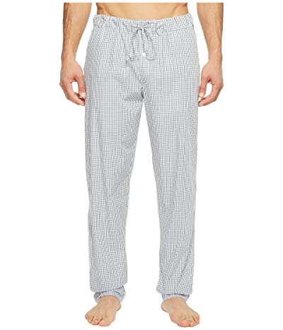 Hanro Night and Day Woven Lounge Pants (Shaded Check) Men