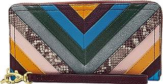 Fossil Women's Wallet, 7.75''L x 0.75''W x 4''H, Multicoloured