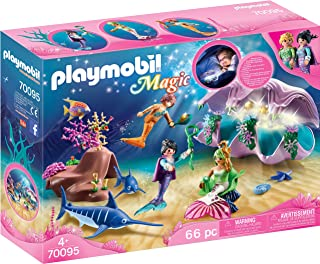 PLAYMOBIL Mermaid Pearl Shell Nightlight Colourful, 28.4...