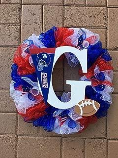 New York Giants Wreath - 3-color