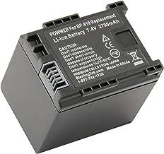 STK's Canon BP-819 Battery - 2700mAh for Canon XA10, Vixia HF G10, HF M40, HF200, HF10, HF20, HF S21, HF M41, HF S100, HF S200, HF M400, HF100, HG20, HF S20, HF S30, HF S10, HF11, HG21, HF S11, M31, M300, M30, CG-800