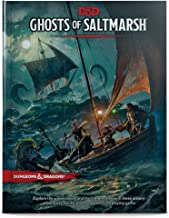 Dungeons & Dragons Ghosts of Saltmarsh Hardcover Book (D&D A