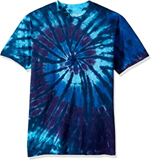 Liquid Blue Men's Spiral Streak T-Shirt