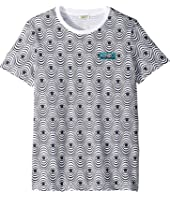 Kenzo Kids - All Over Printed Swivel Tee (Big Kids)