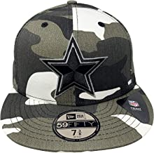 New Era Dallas Cowboys 59Fifty Fitted Hat NFL Football Flat Bill Baseball Cap
