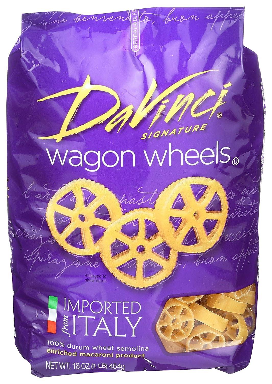 DaVinci New popularity Signature Pasta specialty shop Wagon Resealable Wheels 16 Ounce