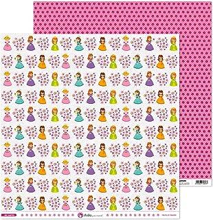 Anita y Su Mundo Collection de contes de papier pour scrapbooking, papier, princesses 30,5 x 30,5 cm