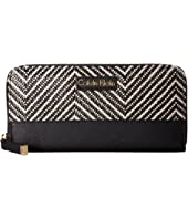 Calvin Klein - Saffiano Raffia Wallet