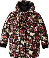 Dolce & Gabbana Kids - Back to School Floral Nylon Coat (Big Kids)