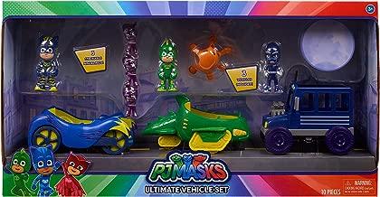 PJ Masks Ultimate Vehicle Set - 10 Piece Set