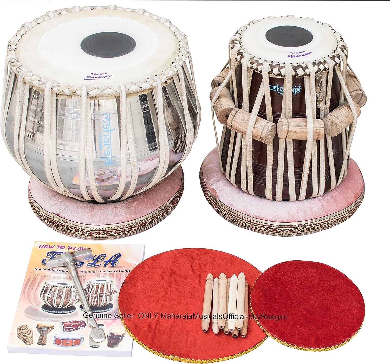 Maharaja Musicals Tabla Set 手数料無料 正規店 Ba Classic Drums Brass