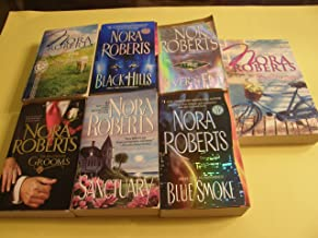 7 Book Nora Roberts Set (Black Hills, Blue Smoke,River's End, Sanctuary, The Macgregor Grooms, Irish Dreams(2in1 novel),By...