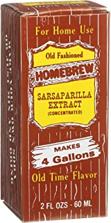 Homebrew Sarsaparilla Concentrated Extract, 2-Ounce Boxes (Pack of 3)