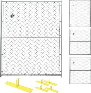 Jewett-Cameron 4-Panel Perimeter Patrol Kit - Temporary Fence Panels, Each 5ft. x 6ft. Model Number RF 0505 CL