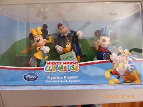 Mickey Mouse Clubhouse Figurine Playset with voyageing Minnie