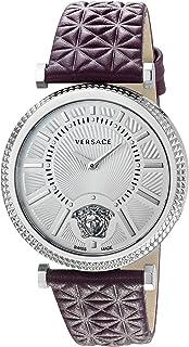 Women's VQG010015 V-HELIX Analog Display Swiss Quartz Purple Watch