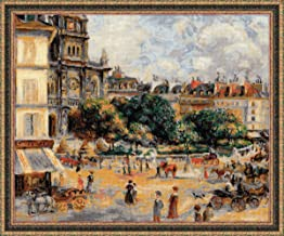 RIOLIS 1396 - Square of the Trinity. Paris After Pierre-August Renoir's Painting - Counted Cross Stitch Kit 23