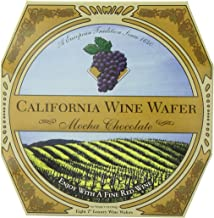 product image for California Wine Wafer, Mocha Chocolate, 7-Ounce Boxes (Pack of 3)