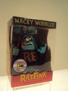 rat fink light blue san diego comic con 2009 wacky wobbler