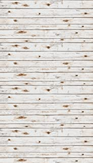 Ella Bella Photography Backdrop Paper, White Washed Wood, 48