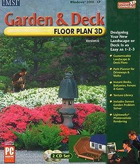 IMSI - Garden And Deck Floorplan 3D